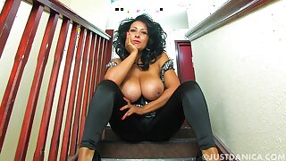 Horny wife Danica Collins can't wait for her hubby to come home